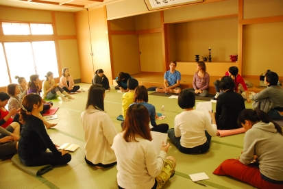 clase de filosofía del yoga...yes!