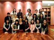 grupo de alumnos del taller en Kobe, gracias!!