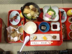 pero que bien se desayuna en Japón...yay!