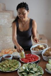 Sayuri...love in the kitchen...love in our stomach...love in our soul