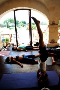 yoga mañanero en el mejor lugar...Menorca I love you!